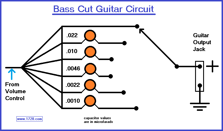 B-CUT TONE CIRCUIT FOR GUITAR on guitar wiring harness, guitar amp diagram, guitar on ground, guitar circuit diagram, guitar repair tips, guitar wiring theory, guitar wiring 101, guitar made out of a box, guitar potentiometer wiring, guitar parts diagram, guitar switch wiring, guitar wiring for dummies, guitar wiring basics, guitar dimensions, guitar electronics wiring, guitar schematics, guitar jack wiring, guitar brands a-z, guitar tone control wiring,