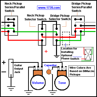 Guitar Wiring Site V on ground water pump, fuel system diagram, alternator diagram, ground cover, control diagram, fuse box diagram, battery diagram, fuel pump diagram,