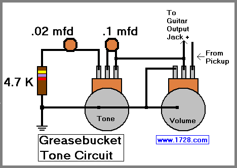greasebucket tone circuit for guitar. Black Bedroom Furniture Sets. Home Design Ideas